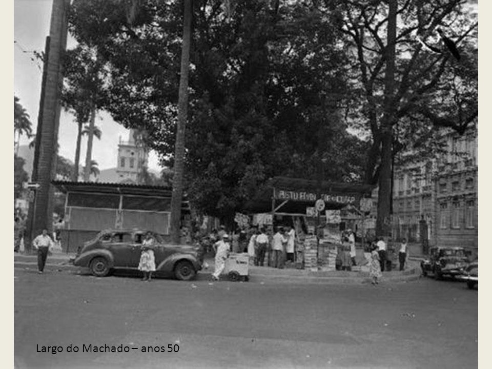 Largo do Machado – anos 50