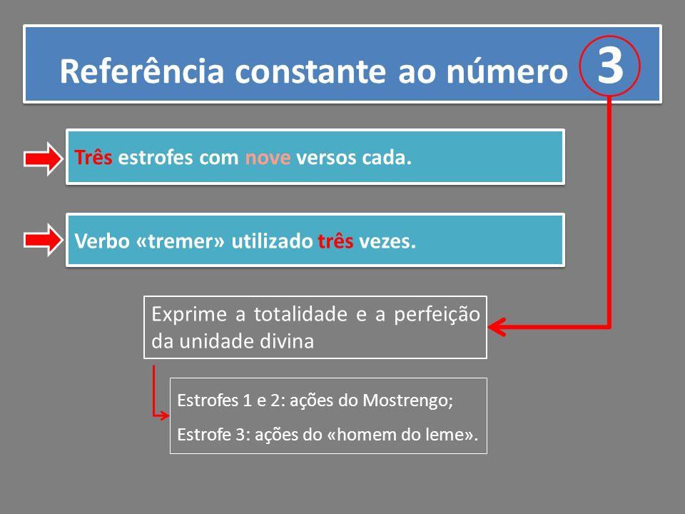 Referência constante ao número 3