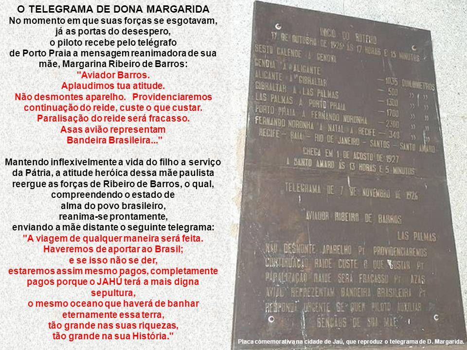 O TELEGRAMA DE DONA MARGARIDA
