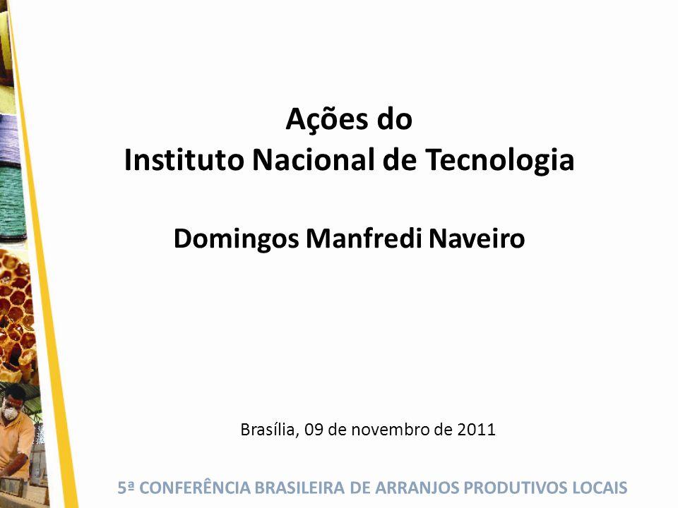 Instituto Nacional de Tecnologia Domingos Manfredi Naveiro