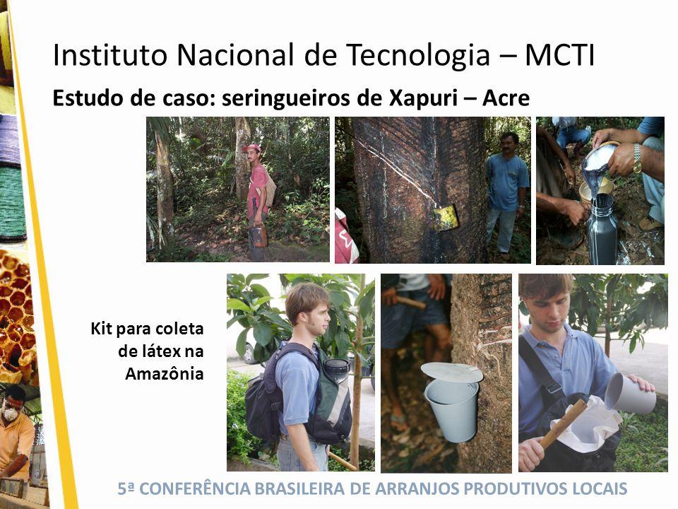 Instituto Nacional de Tecnologia – MCTI