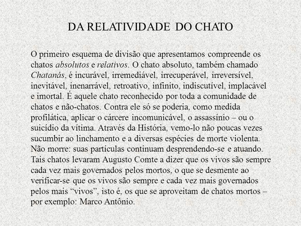 DA RELATIVIDADE DO CHATO