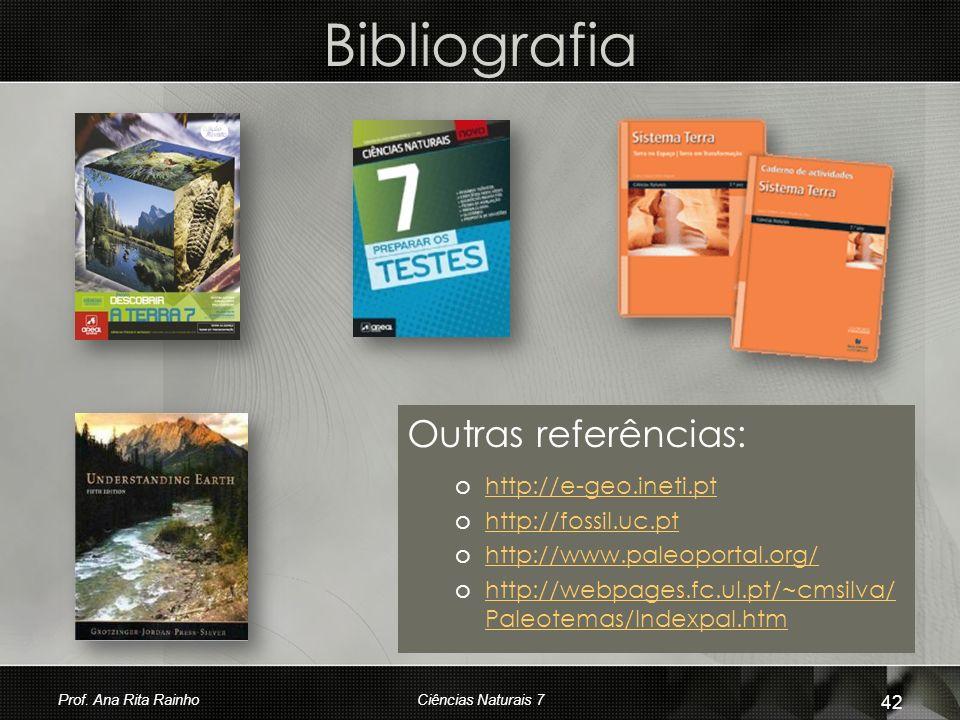 Bibliografia Outras referências: http://e-geo.ineti.pt