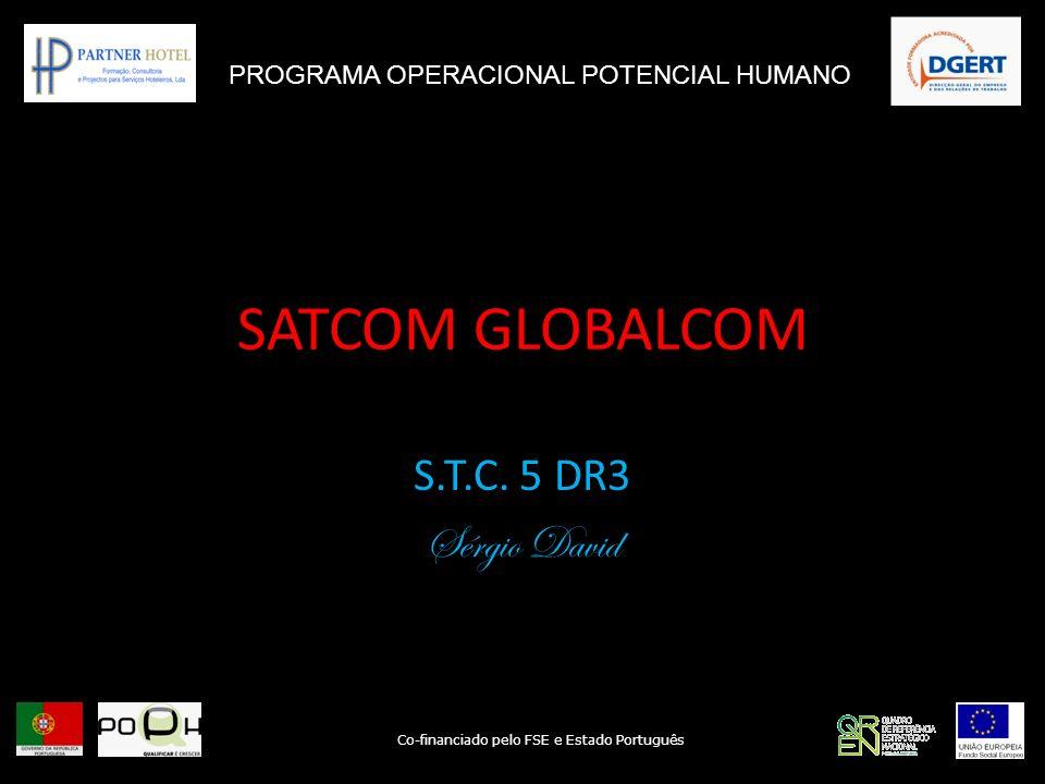 SATCOM GLOBALCOM S.T.C. 5 DR3 Sérgio David
