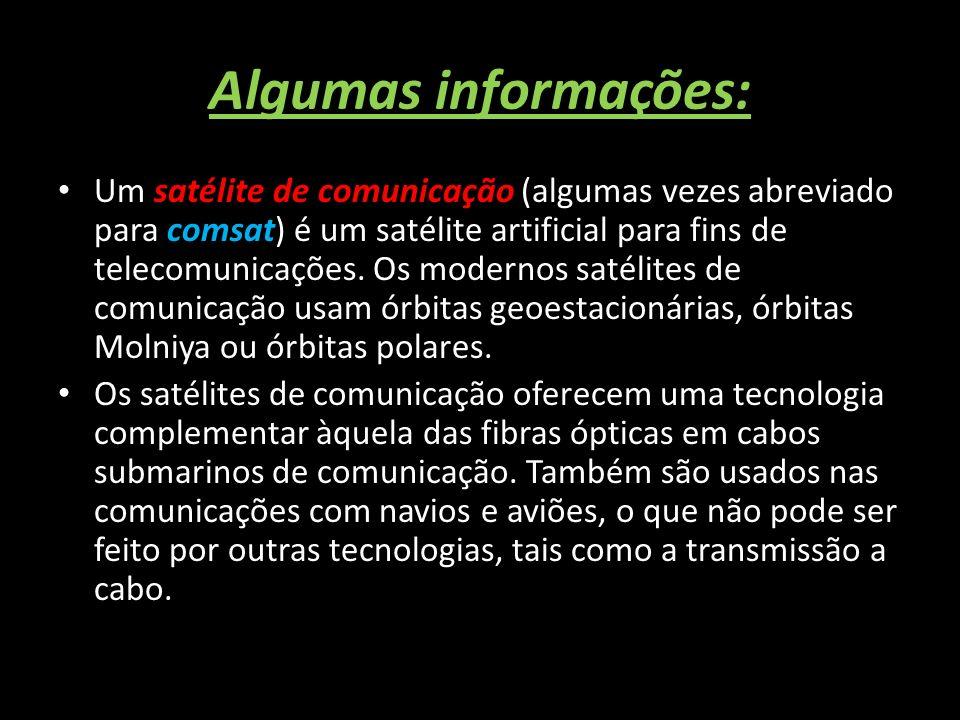 Algumas informações: