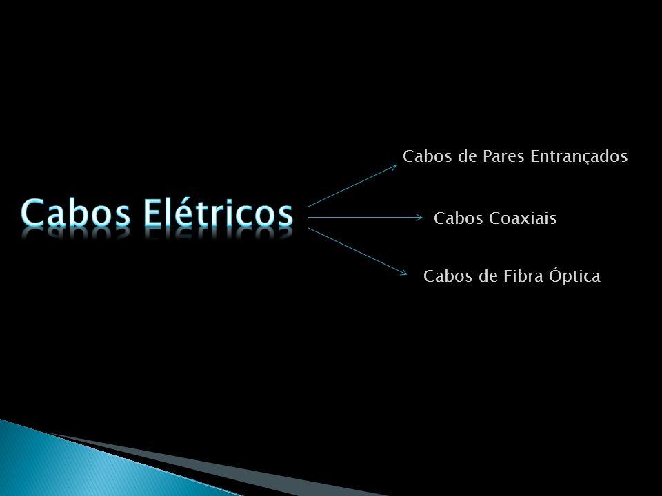 Cabos Elétricos Cabos de Pares Entrançados Cabos Coaxiais