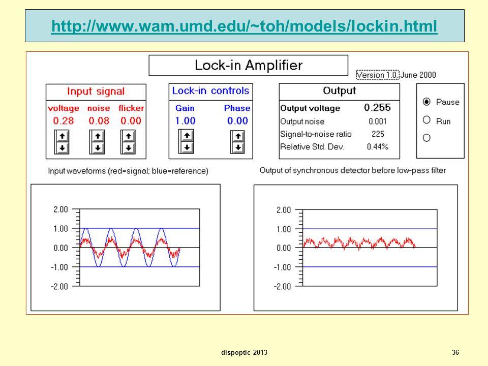 http://www.wam.umd.edu/~toh/models/lockin.html