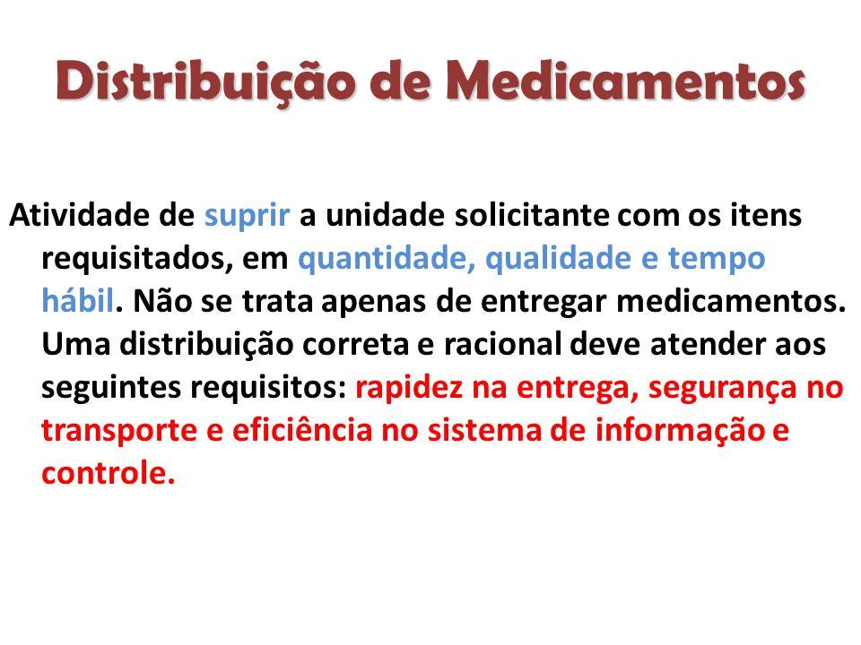 Distribuição de Medicamentos