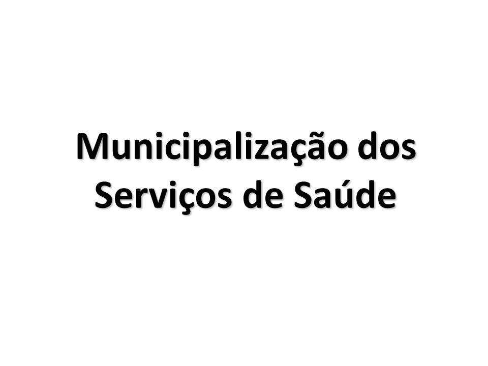 Municipalização dos Serviços de Saúde