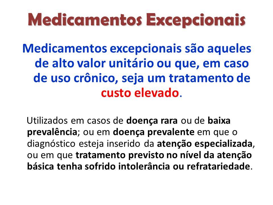 Medicamentos Excepcionais