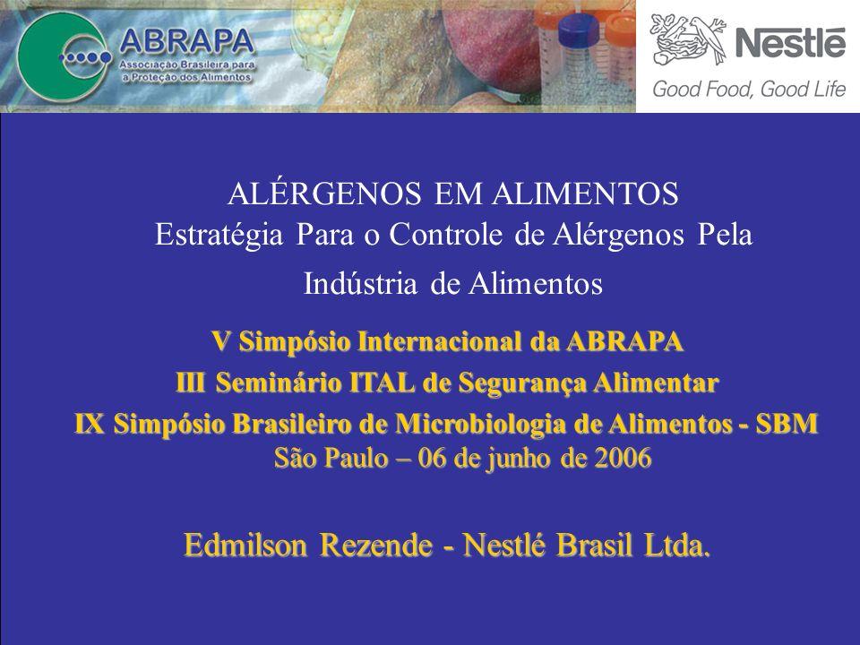 Edmilson Rezende - Nestlé Brasil Ltda.