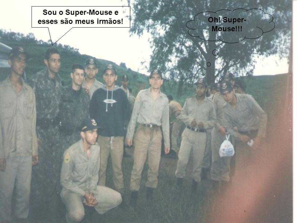 Sou o Super-Mouse e esses são meus irmãos!