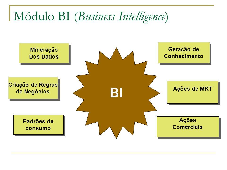 Módulo BI (Business Intelligence)