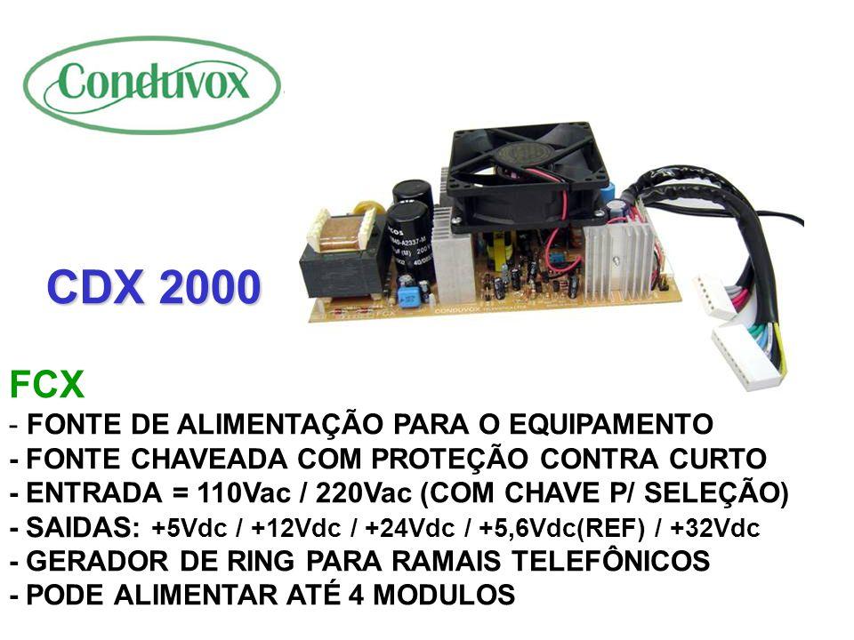 CDX 2000 FCX.