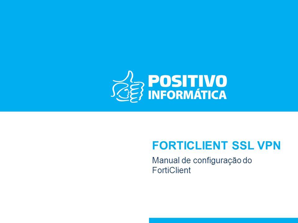 Manual de configuração do FortiClient