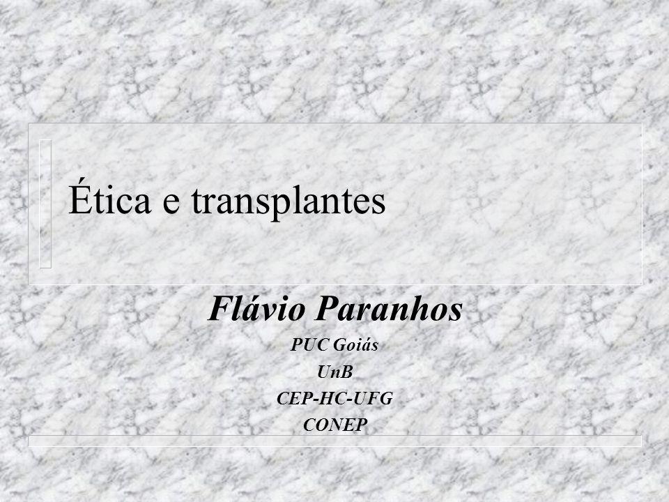 Flávio Paranhos PUC Goiás UnB CEP-HC-UFG CONEP
