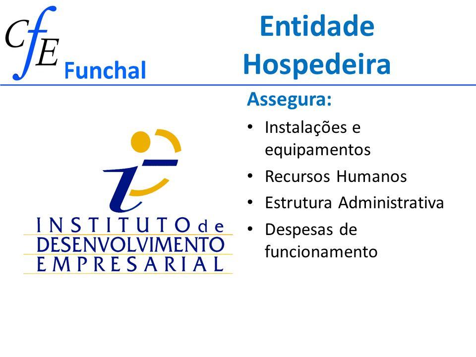 Entidade Hospedeira Funchal Assegura: Instalações e equipamentos