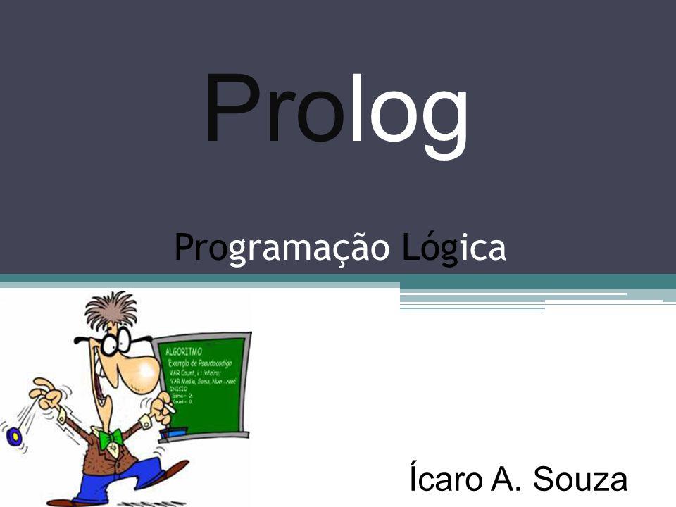 Prolog Programação Lógica Ícaro A. Souza