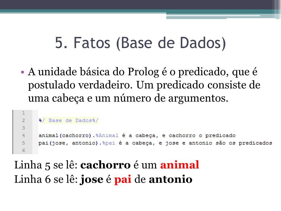 5. Fatos (Base de Dados)