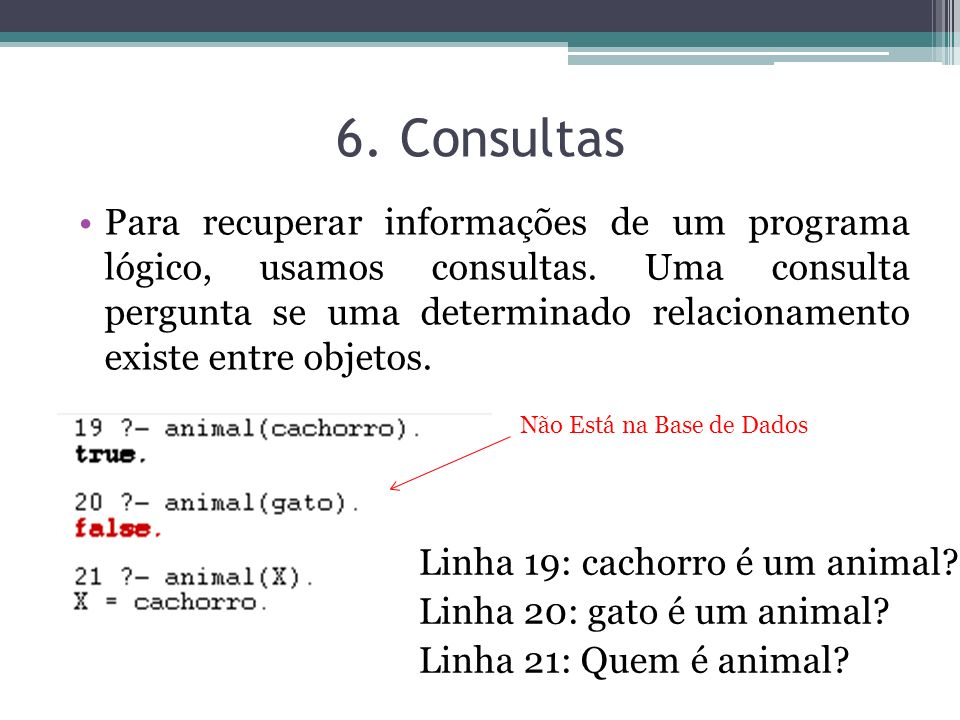 6. Consultas
