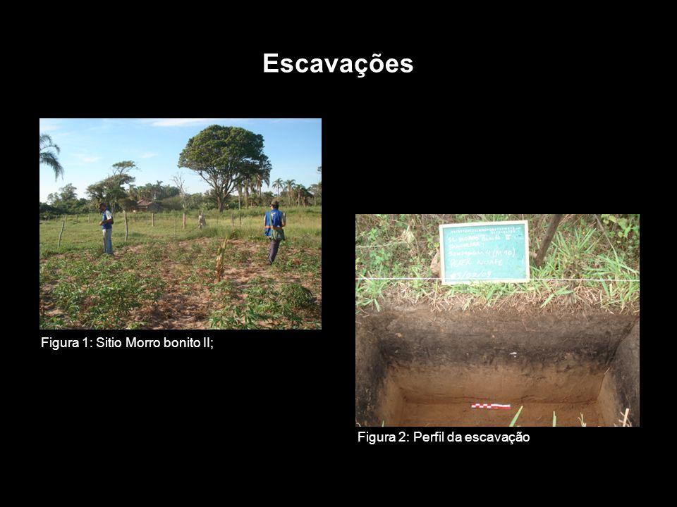 Escavações Figura 1: Sitio Morro bonito II;