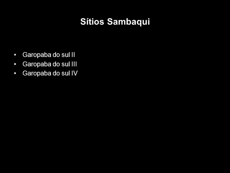 Sítios Sambaqui Garopaba do sul II Garopaba do sul III