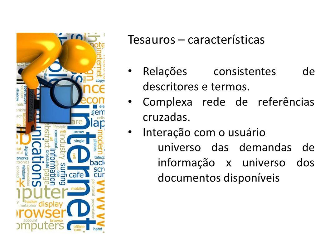 Tesauros – características