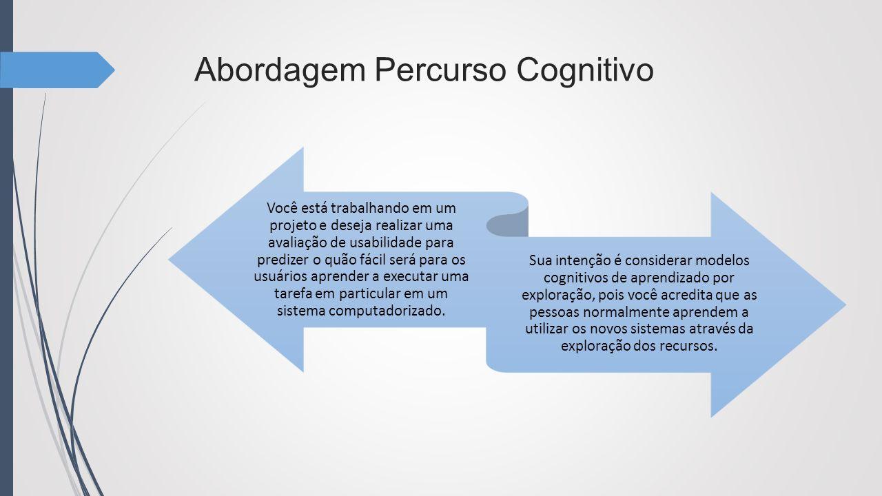 Abordagem Percurso Cognitivo
