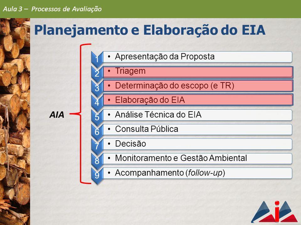 Planejamento e Elaboração do EIA