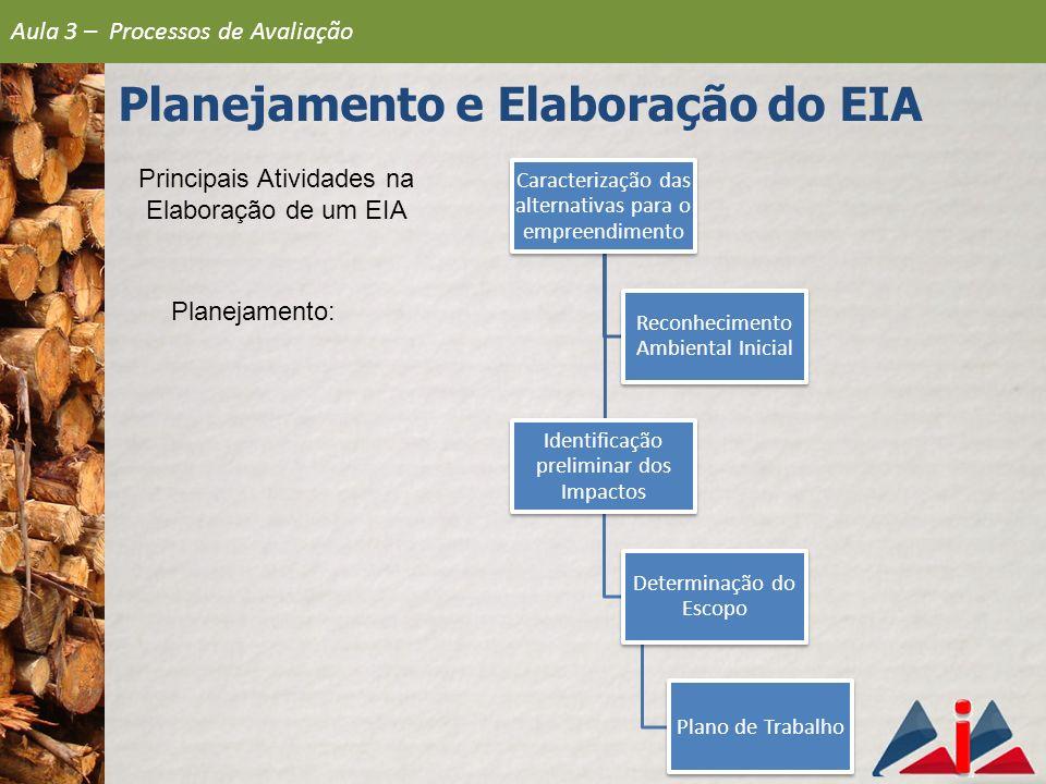 Principais Atividades na Elaboração de um EIA
