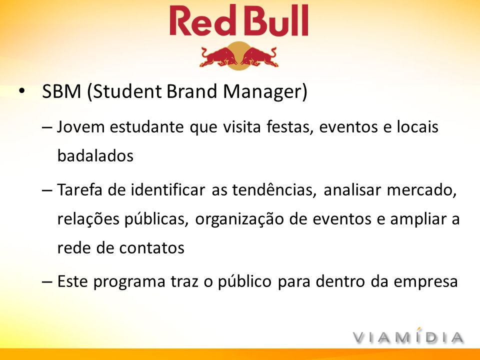 SBM (Student Brand Manager)