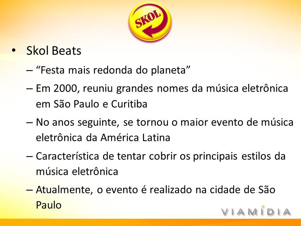 Skol Beats Festa mais redonda do planeta