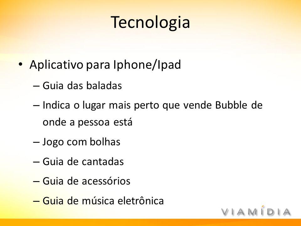 Tecnologia Aplicativo para Iphone/Ipad Guia das baladas
