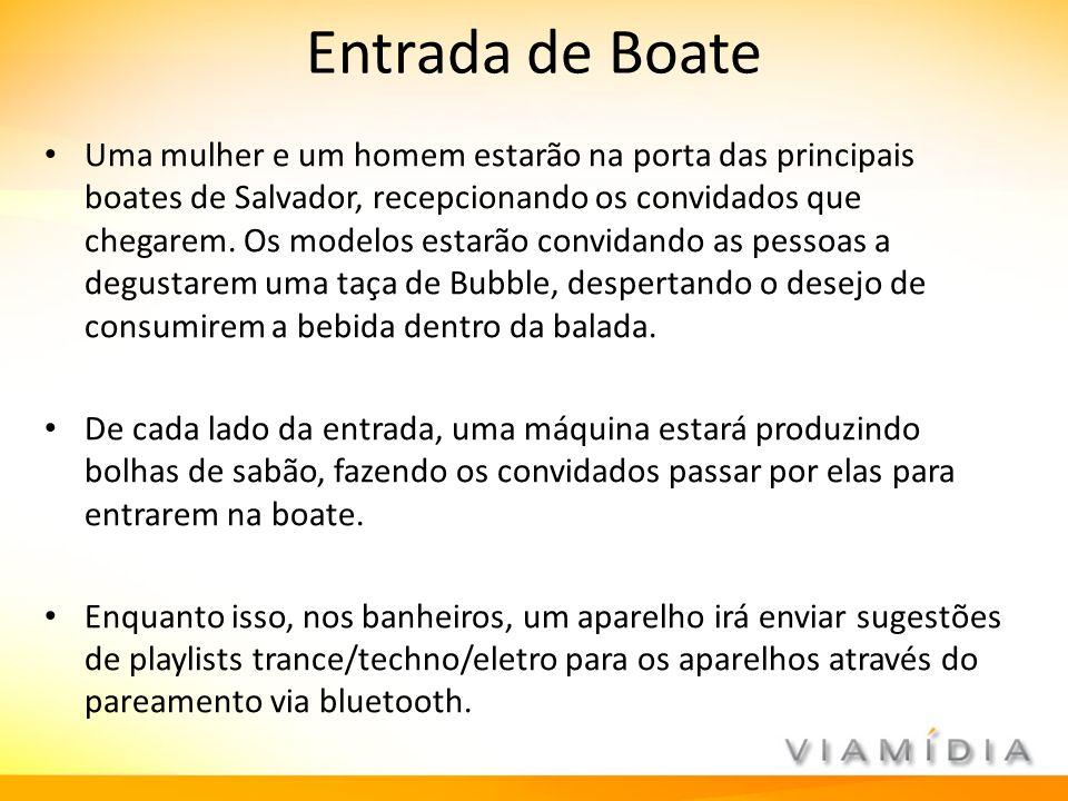 Entrada de Boate