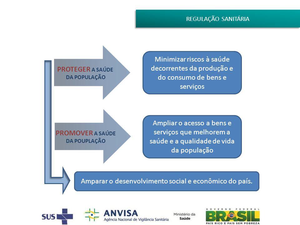 Amparar o desenvolvimento social e econômico do país.