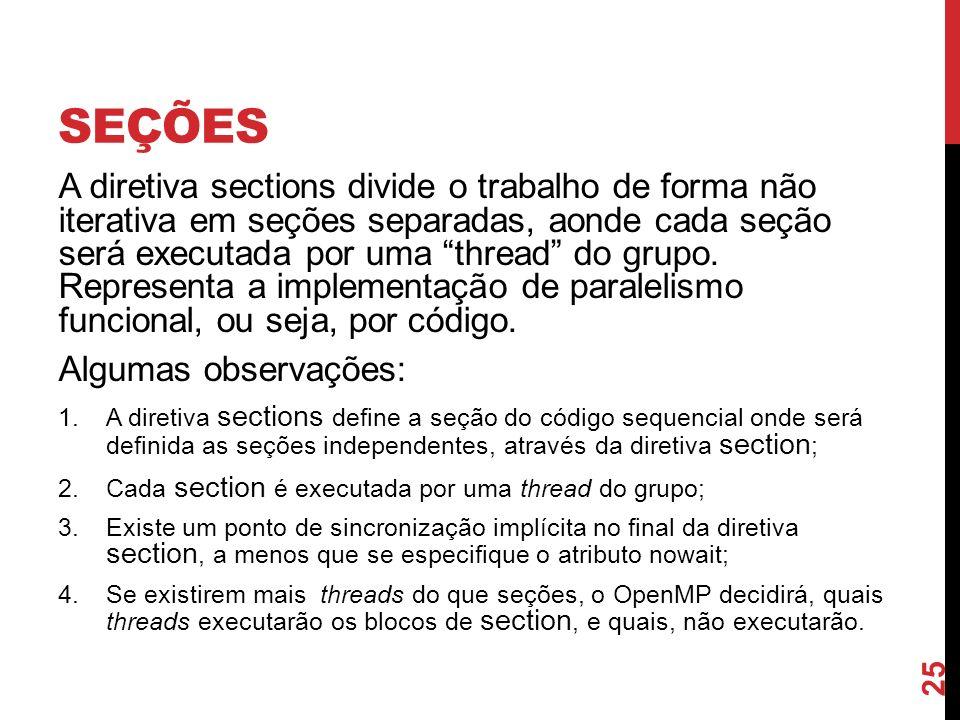 Seções