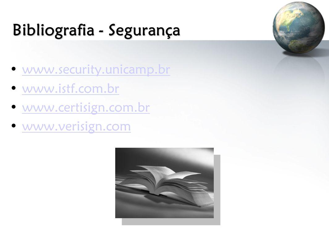 Bibliografia - Segurança