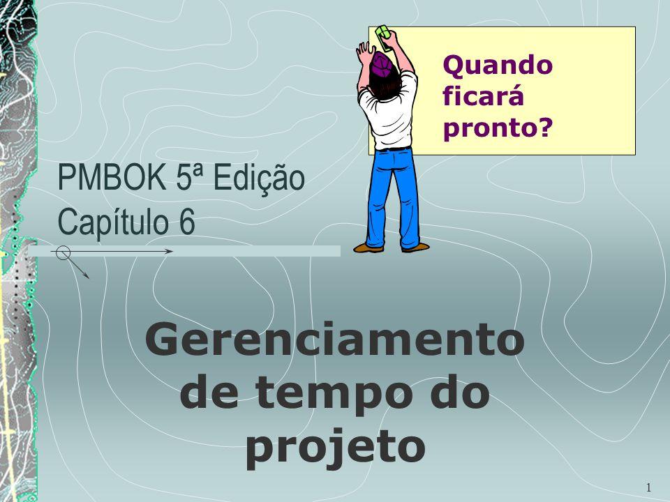 PMBOK 5ª Edição Capítulo 6