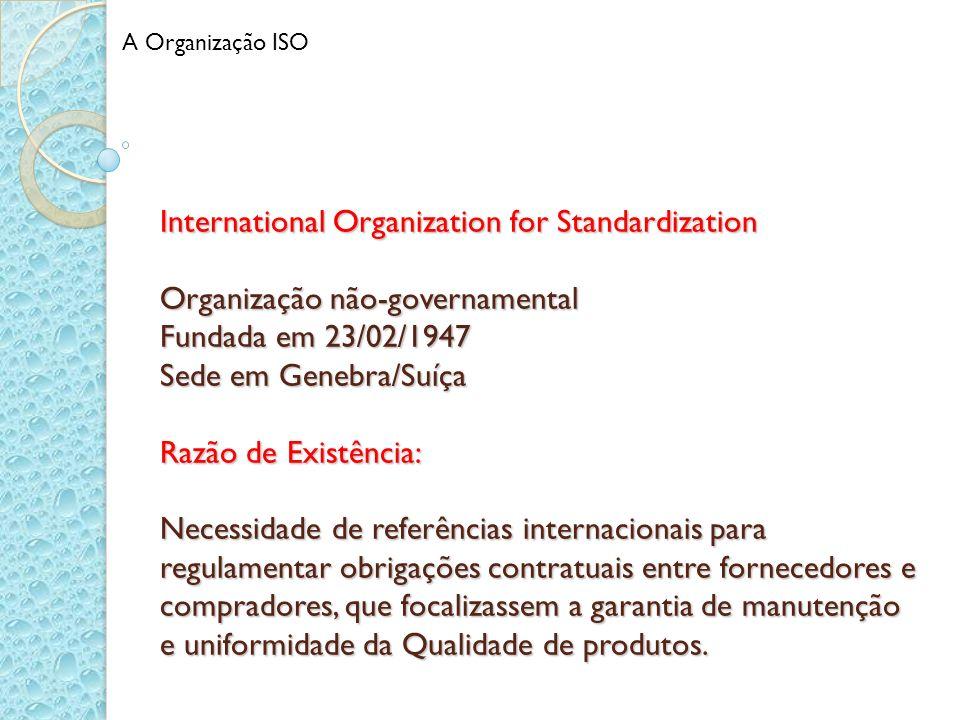 A Organização ISO