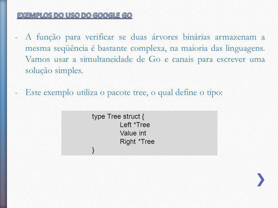 Este exemplo utiliza o pacote tree, o qual define o tipo: