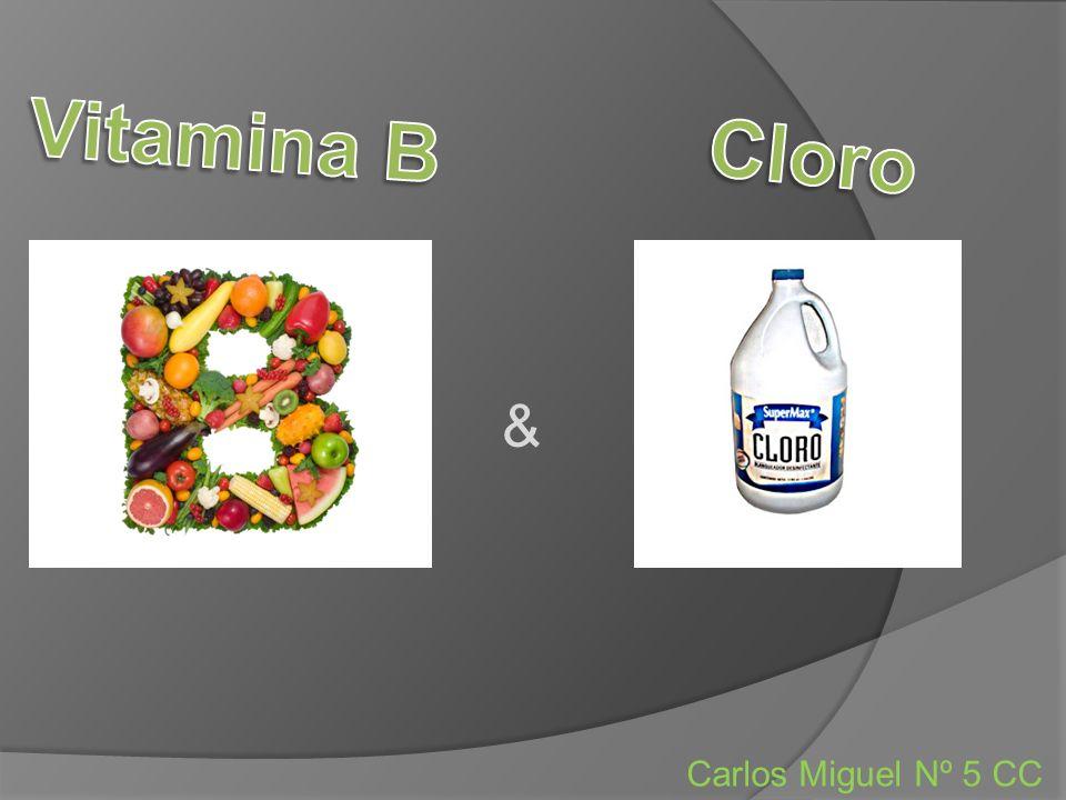 Vitamina B Cloro & Carlos Miguel Nº 5 CC