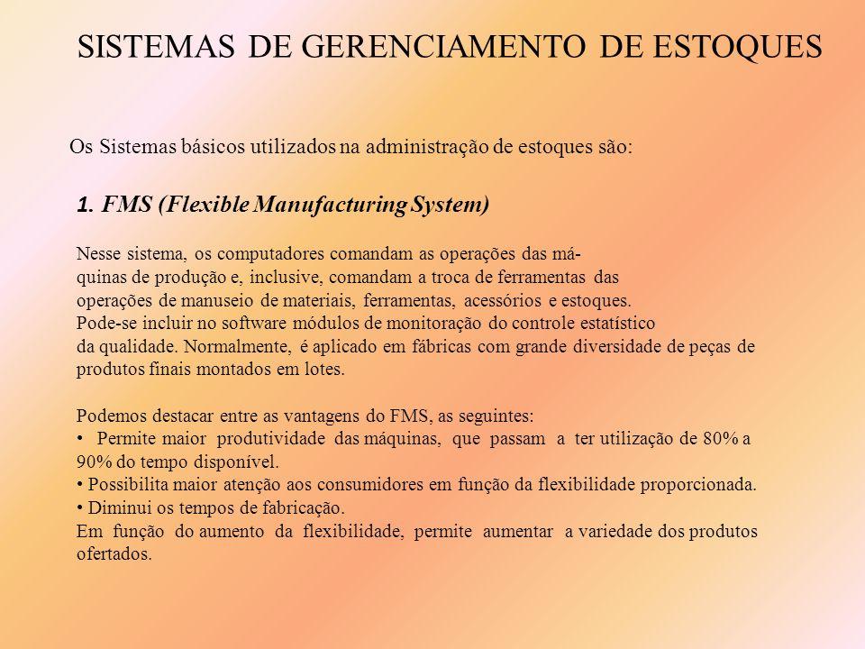 SISTEMAS DE GERENCIAMENTO DE ESTOQUES