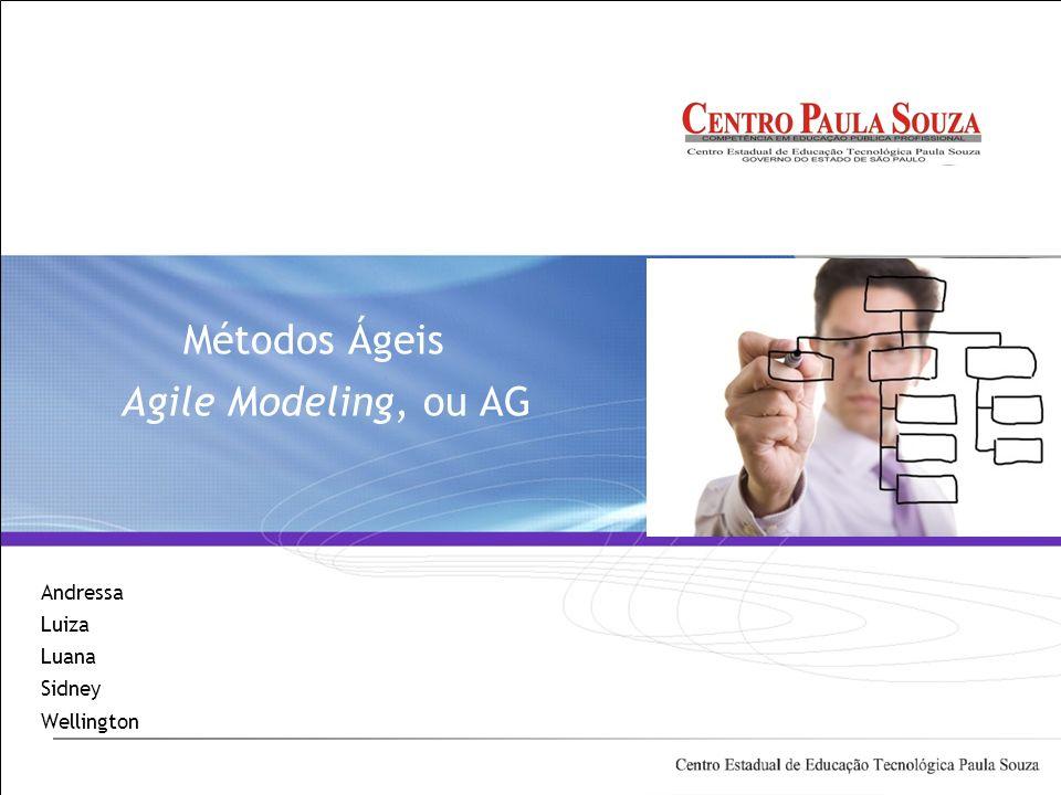 Métodos Ágeis Agile Modeling, ou AG