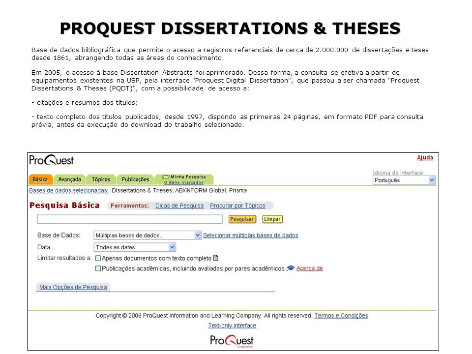 search for dissertations proquest This allows you to search over 400 biological journals for abstracts and full text articles  proquest dissertations and theses @ liberty university.