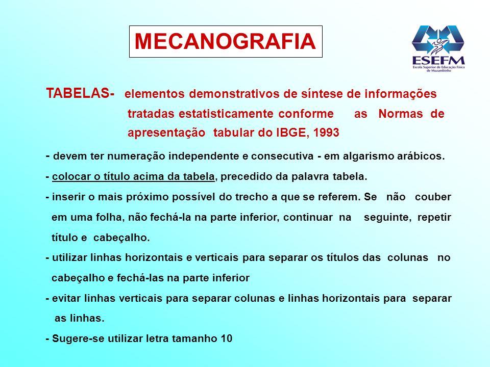 MECANOGRAFIA