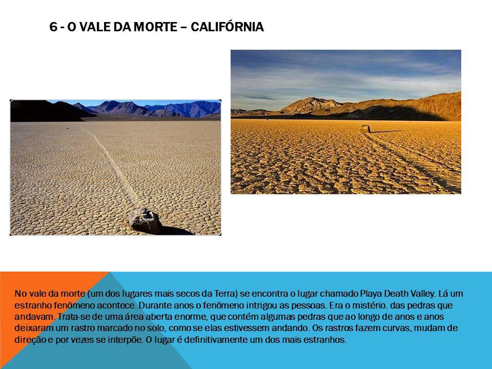 6 - O vale da morte – Califórnia