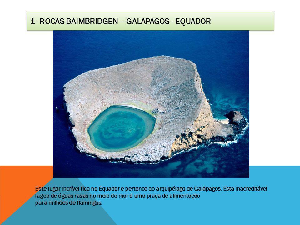1- Rocas Baimbridgen – Galapagos - Equador