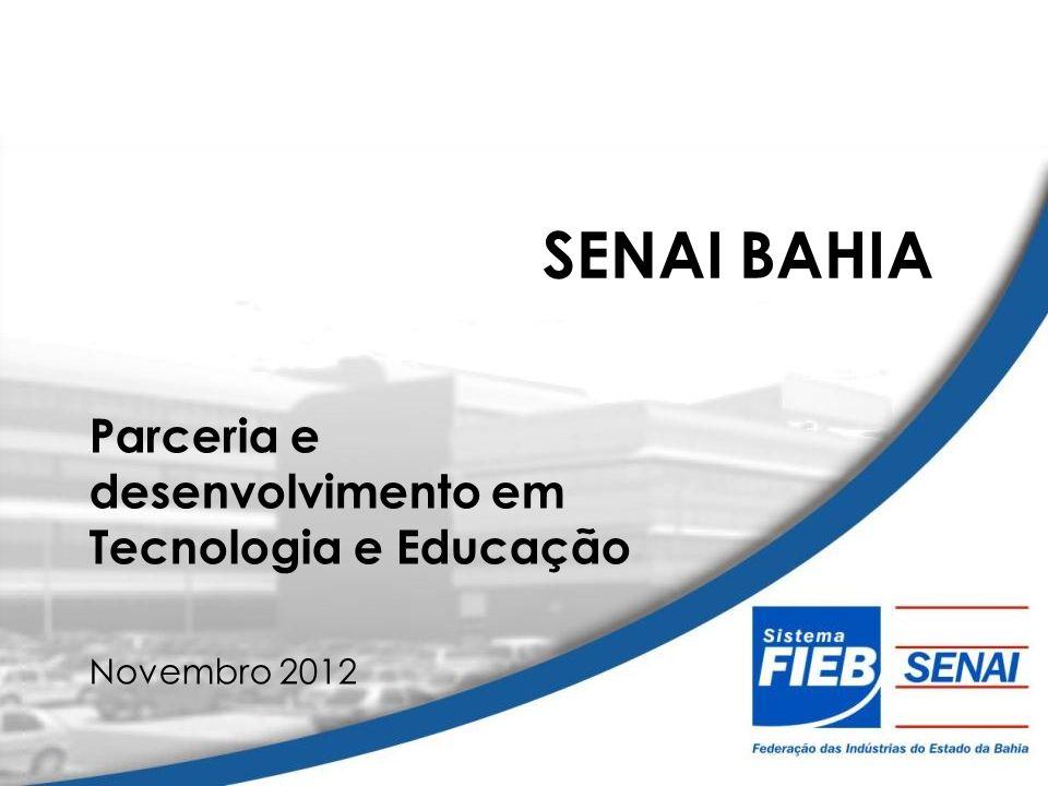 Parceria e desenvolvimento em Tecnologia e Educação Novembro 2012