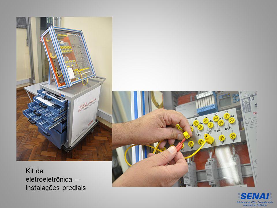 Kit de eletroeletrônica – instalações prediais