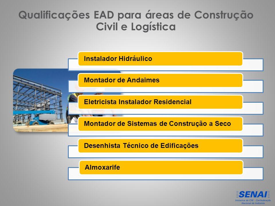 Qualificações EAD para áreas de Construção Civil e Logística